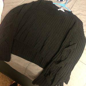 Candies Knit Crop Top Sweater